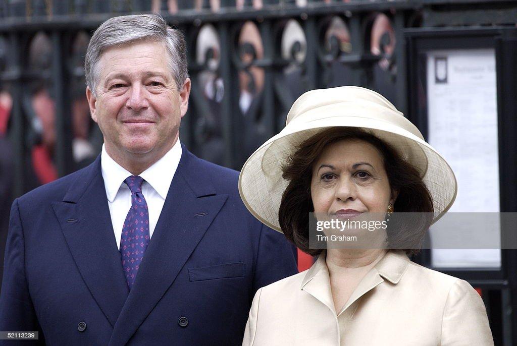Prince Alexander And Katherine  Of Yugoslavia : News Photo