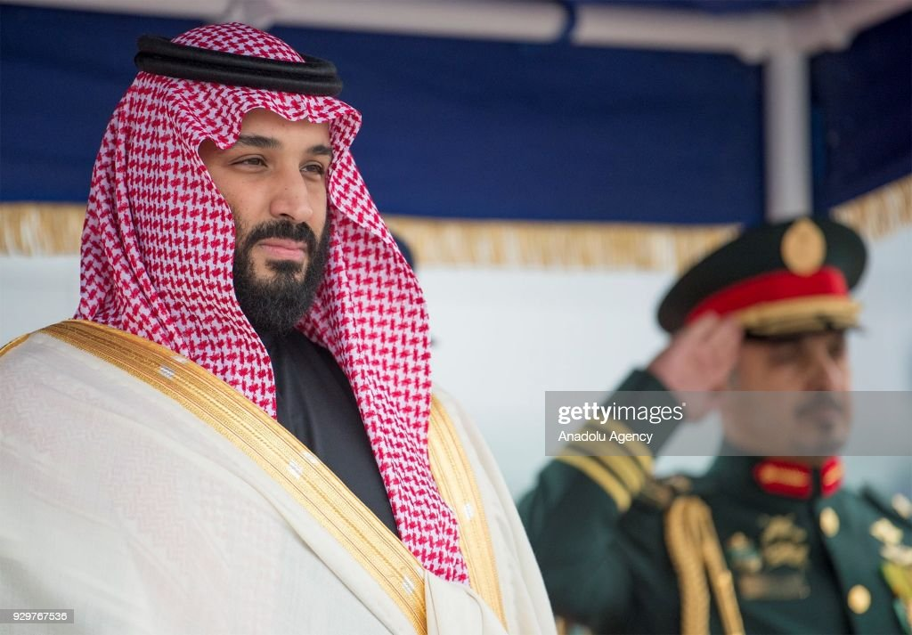 Crown Prince of Saudi Arabia Mohammad Bin Salman in London : Foto jornalística