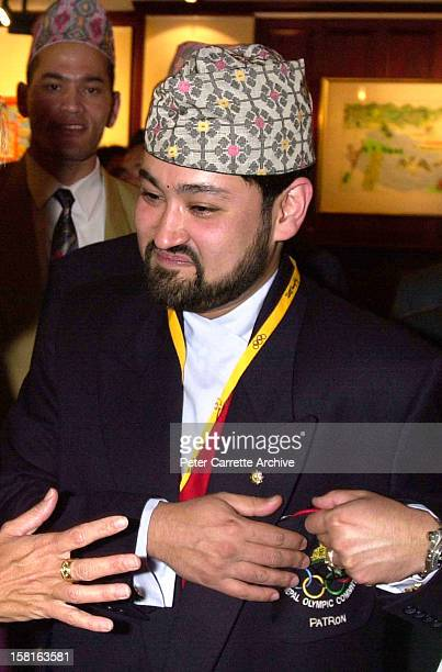 Crown Prince Dipendra of Nepal attends a Fred Hollows Foundation function on September 29 2000 in Sydney Australia