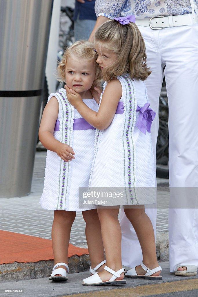 Spanish Royals At Sailing Regatta - Mallorca : News Photo