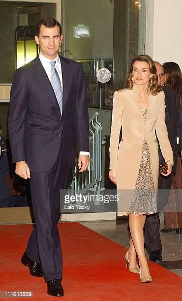 Crown Prince Felipe and Princess Letizia present the 'Antonio Asensio' Journalism Award to the BBC