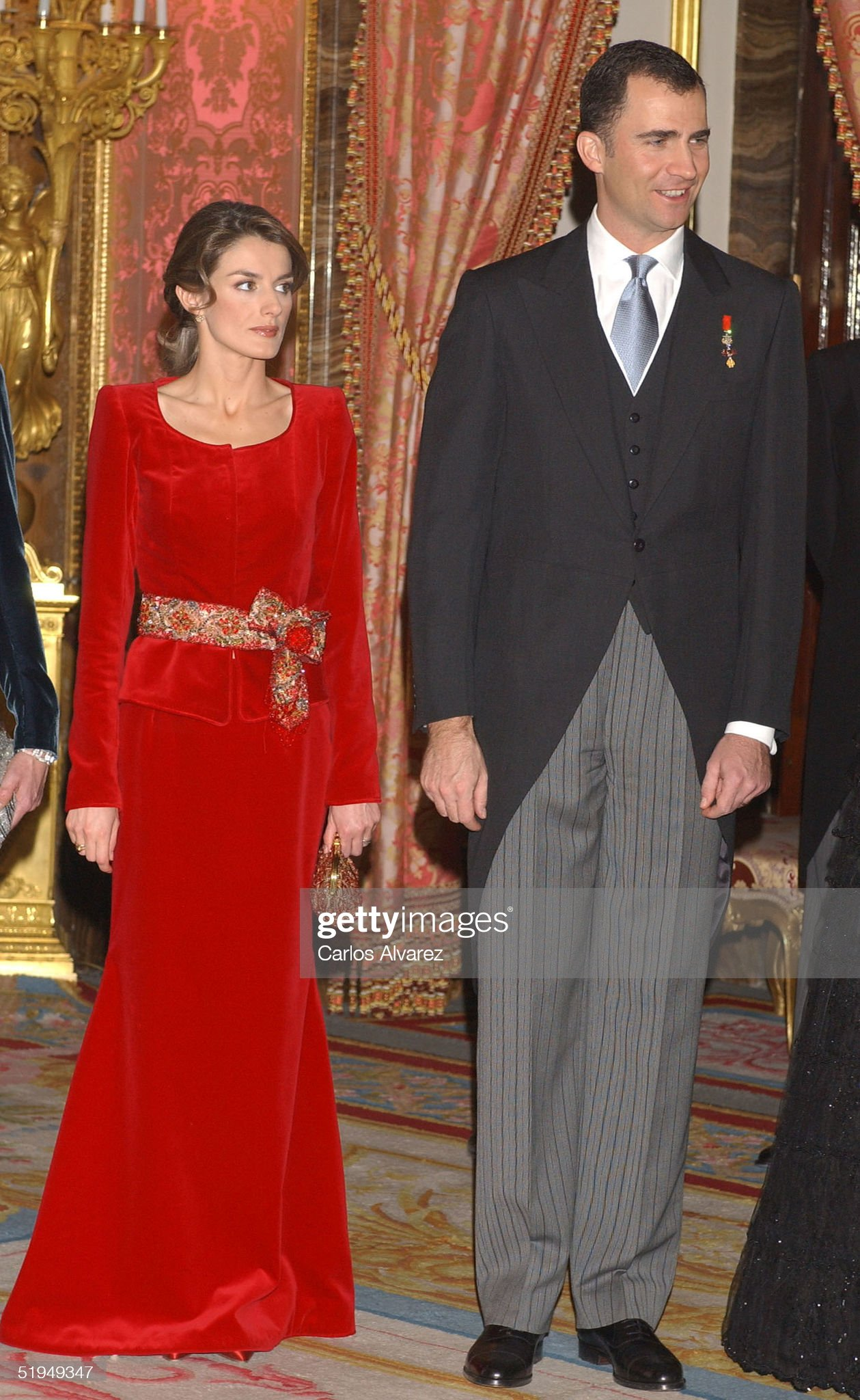 Spanish Royals Receive Foreign Ambassadors : News Photo