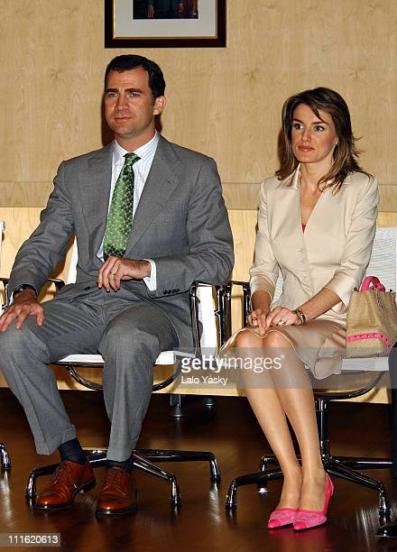 Crown Prince Felipe and Princess Letizia Visit the Consell Insular in Menorca