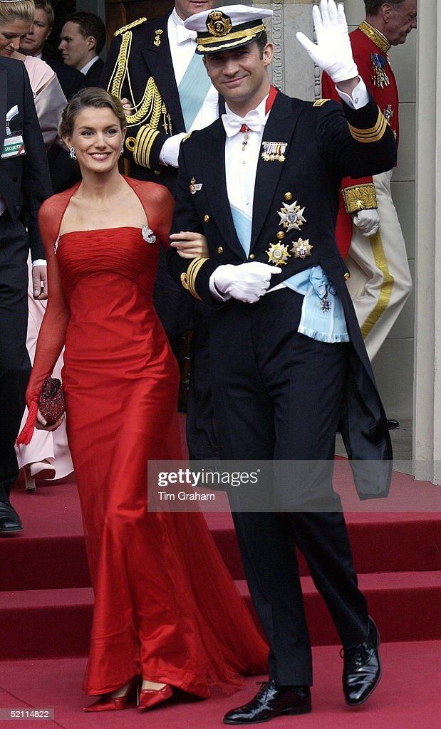 Felipe And Letizia : News Photo