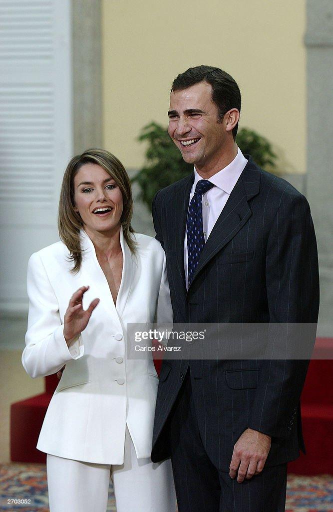 Prince Felipe and Letizia Ortiz : News Photo