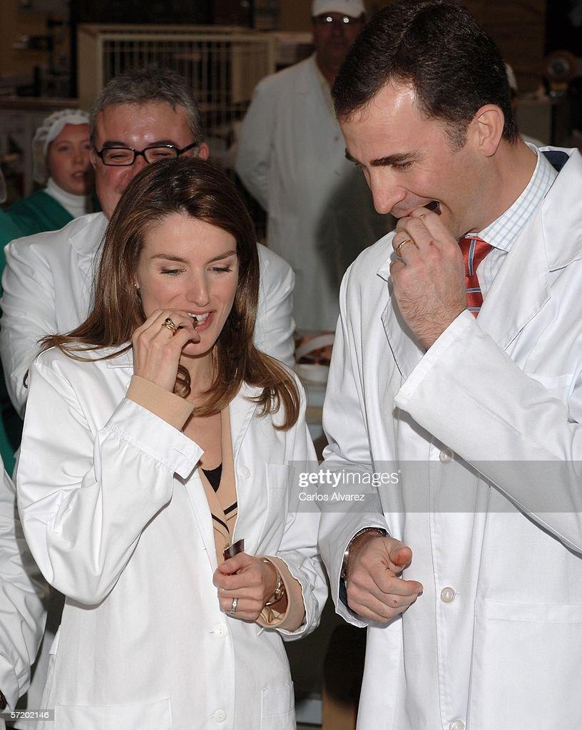 Felipe And Letizia Visit Alicante : News Photo
