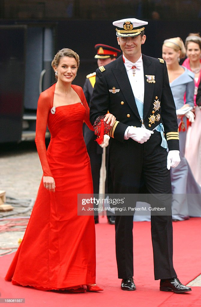 The Wedding Of Crown Prince Frederik & Mary Donaldson : News Photo