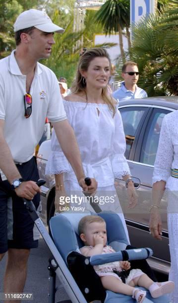 Crown Prince Felipe Princess Letizia and Baby Leonor