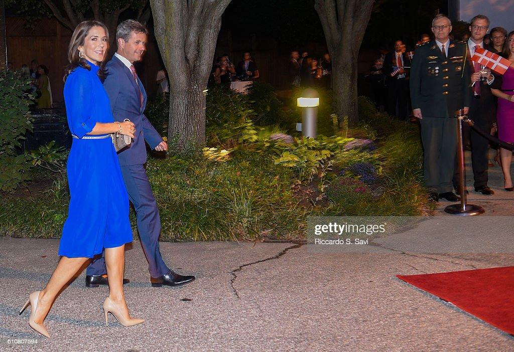 The Danish Crown Prince Couple Visit Washington, DC
