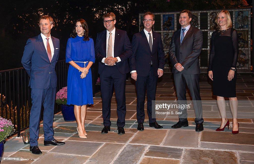 The Danish Crown Prince Couple Visit Washington, DC : News Photo