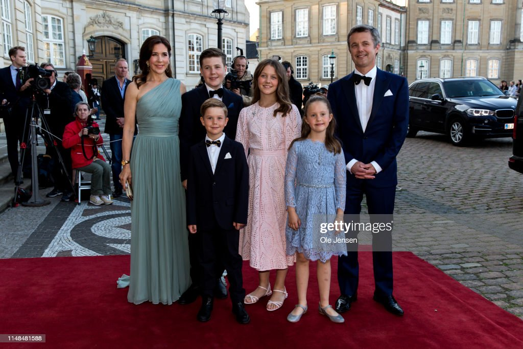 Queen Margrethe Of Denmark Host Birthday Dinner Party For Prince Joachim : News Photo
