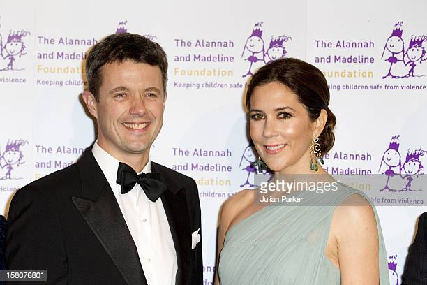 Crown Prince Frederik And Crown Princess Mary Attend The Starry Starry Night Charity Ball In Aid Of The Alannah Madeline Foundation At The Palladium...