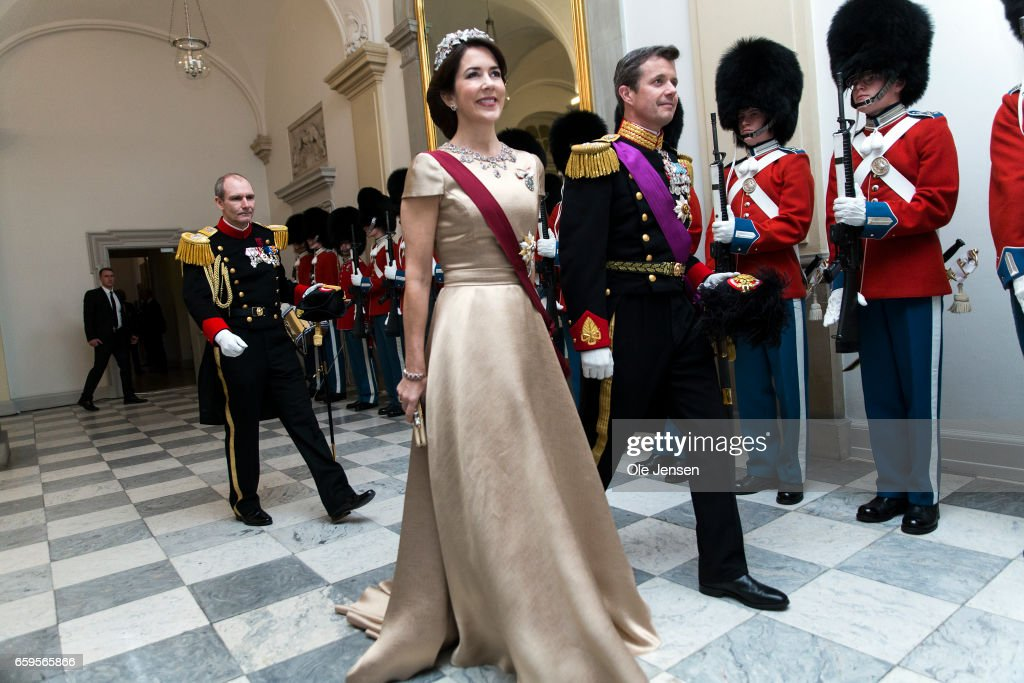 King Philippe And Queen Mathilde Visit Denmark - Day 1 : News Photo