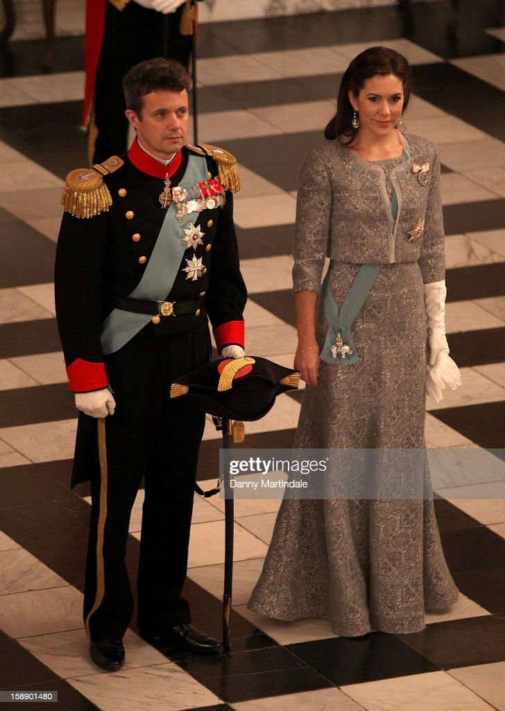 Queen Margrethe Holds New Year's Levee : News Photo