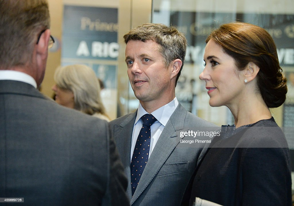 Crown Prince Frederik and Crown Princess Mary of Denmark attend official visit to Canada - Day 2 at MARS Discovery District on September 18, 2014 in Toronto, Canada.
