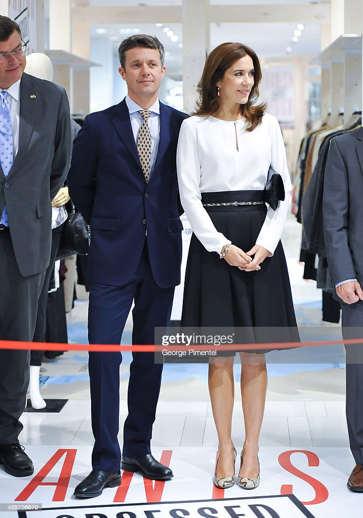 Crown Prince Frederik And Crown Princess Mary Of Denmark Official Visit To Canada - Day 3 : News Photo