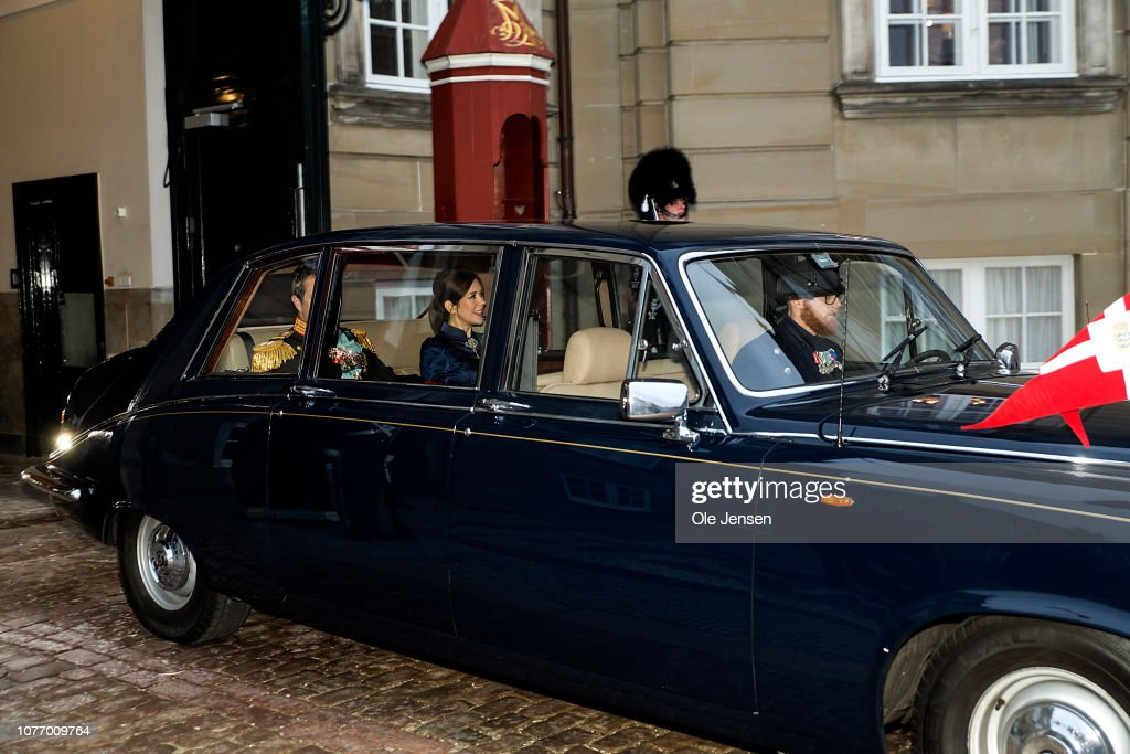 Danish Queen Margrethe Attends New Year's Levee In Copenhagen : News Photo