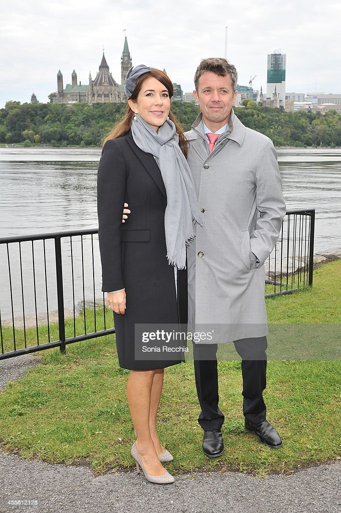 Crown Prince Frederik And Crown Princess Mary Of Denmark Official Visit To Canada - Day 1 : News Photo