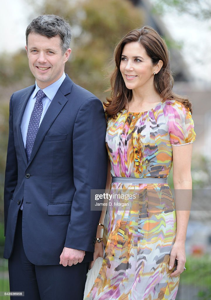 Prince Frederik & Princess Mary of Denmark Visit Australia : News Photo