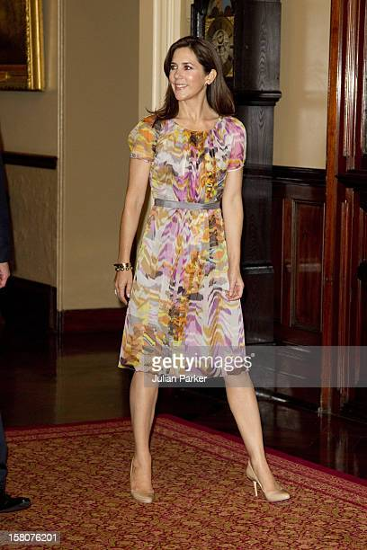 Crown Prince Frederik And Crown Princess Mary Official Visit To AustraliaVisit To Government House Sydney And Meeting With The Governor Of New South...
