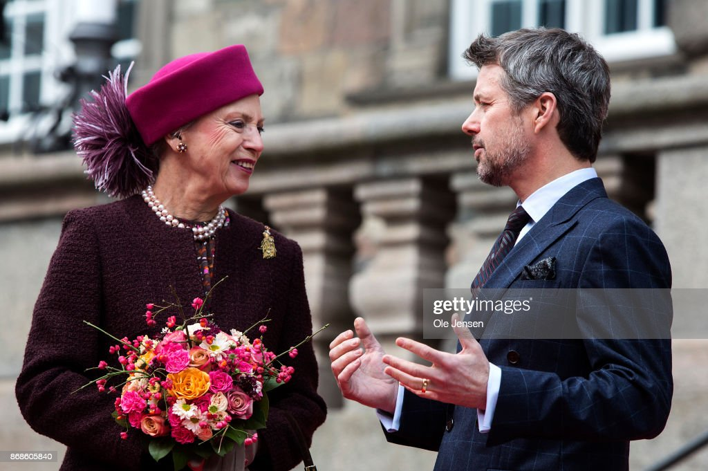 The Danish Royal Family Attend Parliaments Celebration Of Reformation Anniversary : News Photo