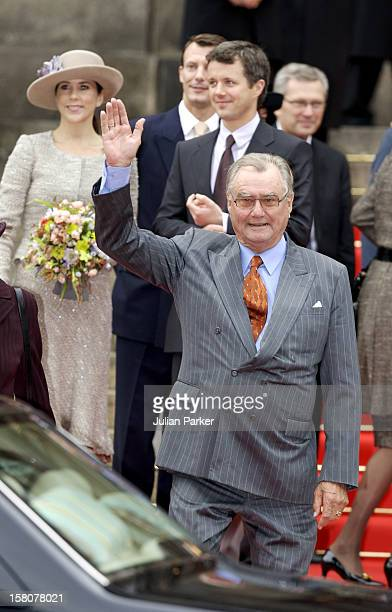 Crown Prince Frederik Crown Princess Mary And Prince Henrik Of Denmark Attend The Opening Of The Danish Parliament At Christiansborg Palace In...