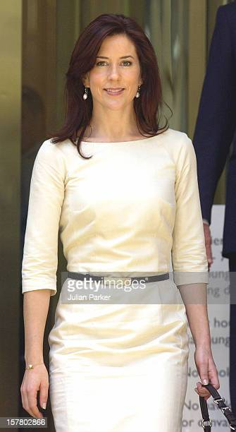 Crown Prince Frederik Crown Princess Mary Of Denmark Attend A Luncheon At The Governor Macquarie Tower Hosted By The Premier Of Nsw During Their...