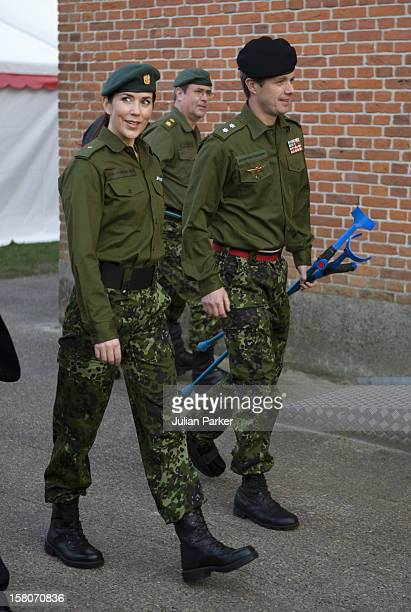 Crown Prince Frederik Crown Princess Mary Of Denmark Attend A Celebration Dinner For The 60Th Anniversary Of The Danish Home Guard In Nymindegab In...
