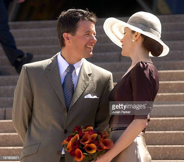 Crown Prince Frederik Crown Princess Mary Of Denmark Attend A Hans Christian Andersen Anniversary Event The Announcement Of The Hans Christian...