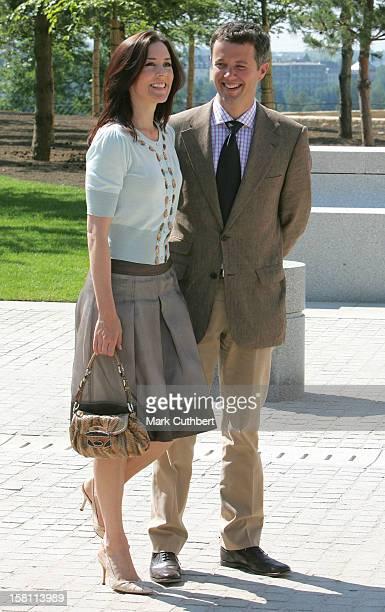 Crown Prince Frederik Crown Princess Mary Of Denmark Attend The Silver Wedding Anniversary Celebrations Of Grand Duke Henri Grand Duchess...