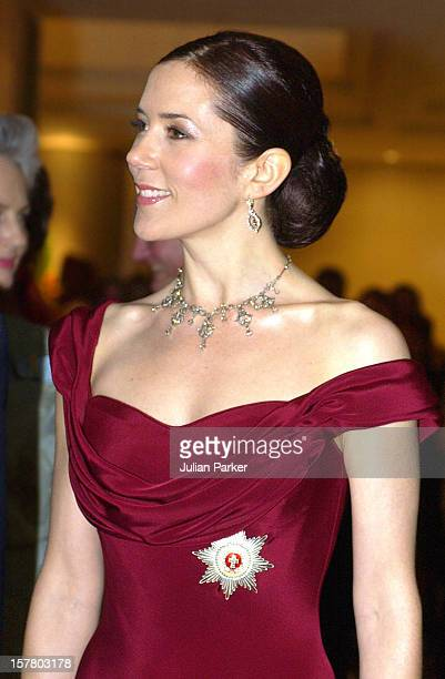 Crown Prince Frederik Crown Princess Mary Of Denmark Leave The ShangriLa Hotel In Sydney To Attend A State Dinner At Government House