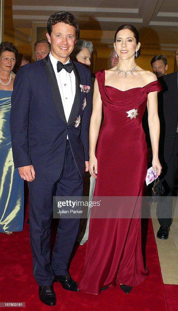 Crown Prince Frederik & Crown Princess Mary Of Denmark Visit Australia : News Photo