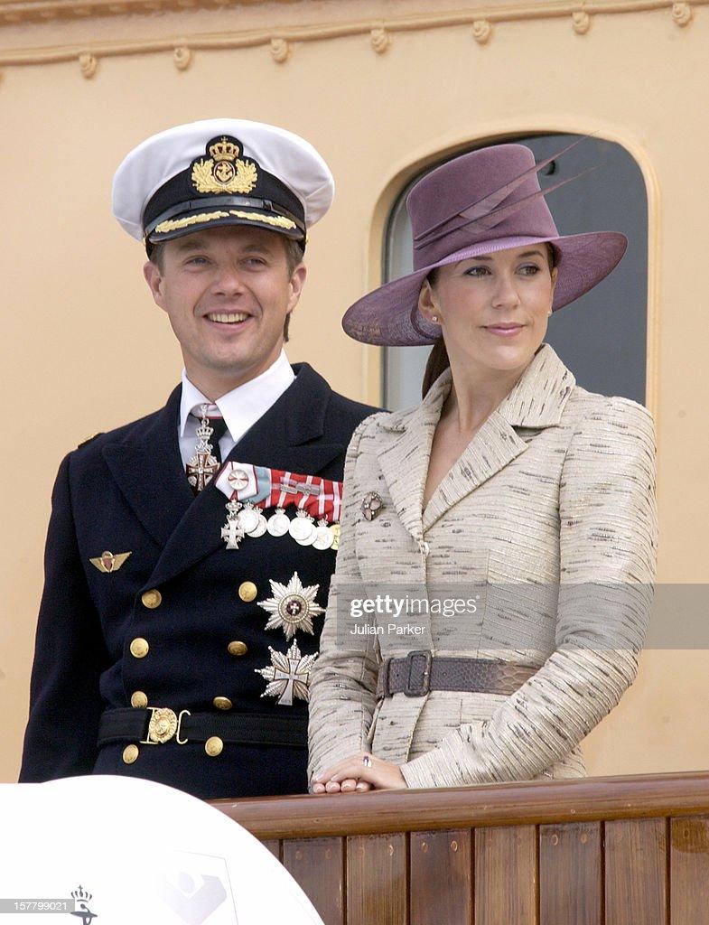 Crown Prince Frederik & Crown Princess Mary Visit Aalborg : News Photo