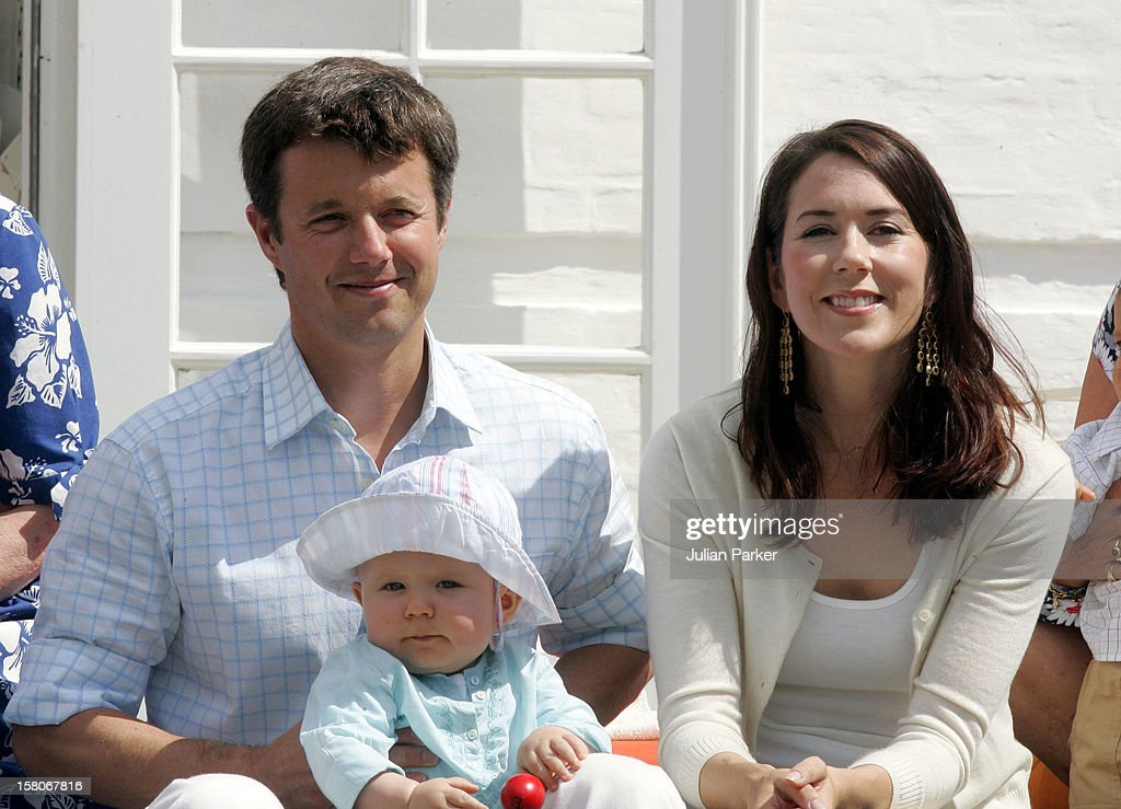 Danish & Greek Royals Attend A Photocall At Grasten Palace : News Photo