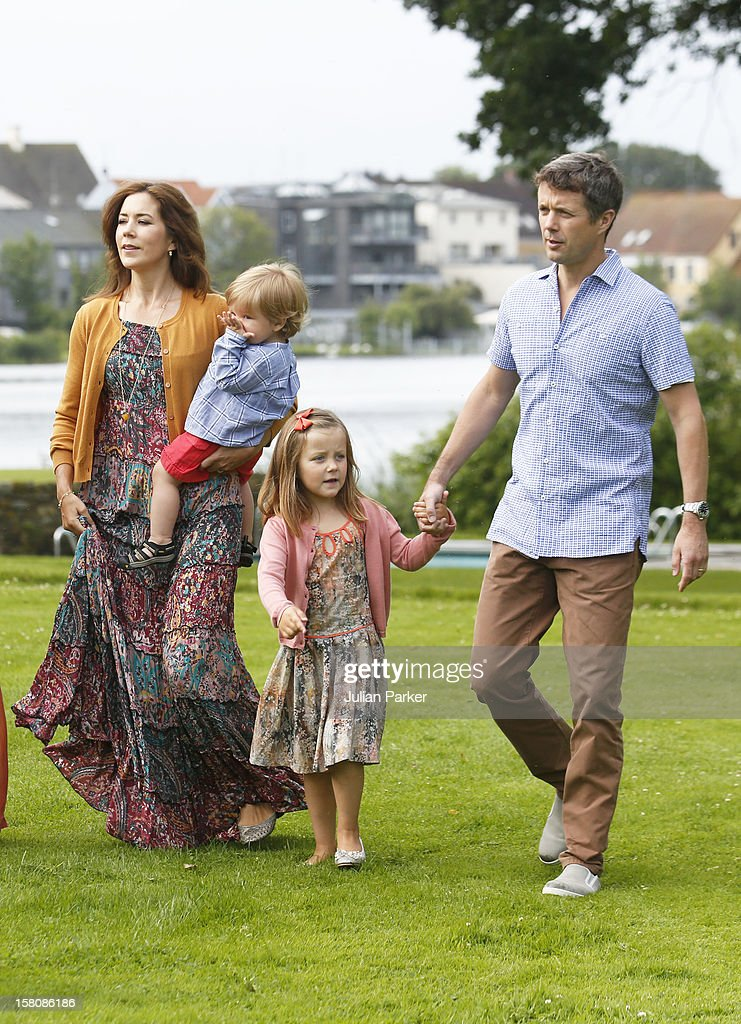 Denmark royal family pictures getty images crown prince frederik crown princess mary princess isabella and prince vincent of denmark of sciox Image collections