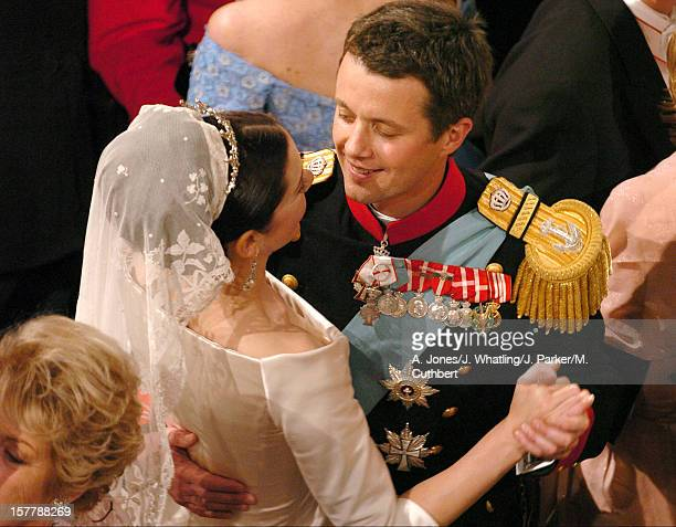 Crown Prince Frederik Crown Princess Mary Take Part In The 'Wedding Waltz' In Fredensborg Palace