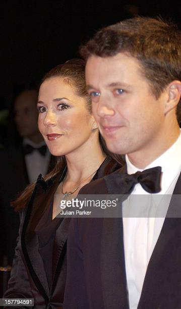 Crown Prince Frederik Mary Donaldson Attend A Gala Concert At The Copenhagen Radiohuset During The State Visit To Denmark Of Grand Duke Henri Grand...