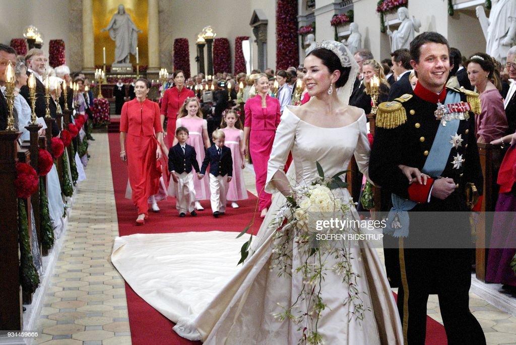 DENMARK-ROYAL WEDDING : News Photo