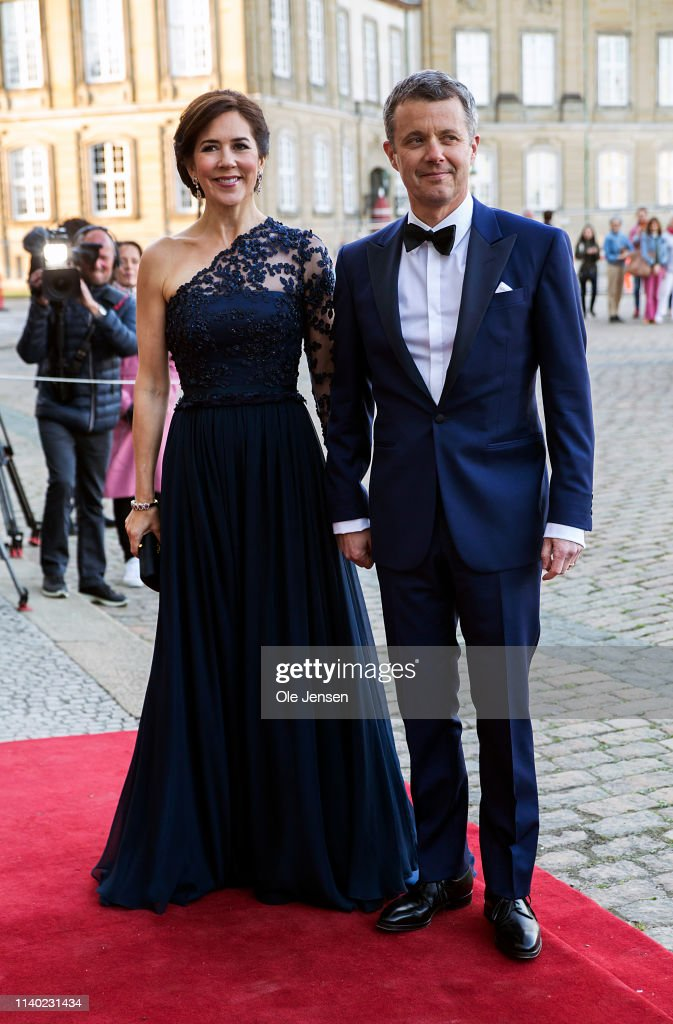 Queen Margrethe Of Denmark Host Birthday Dinner For Her Sister Princess Benedikte : News Photo