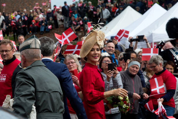 DNK: Danish Crown Prince Couple Participate In The 800 Years Anniversary Of The Danish Flag