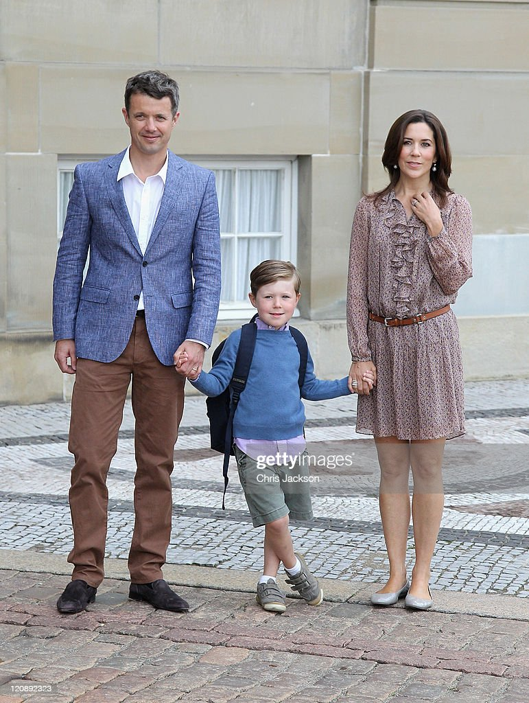 Prince Christian of Denmark's First School Day