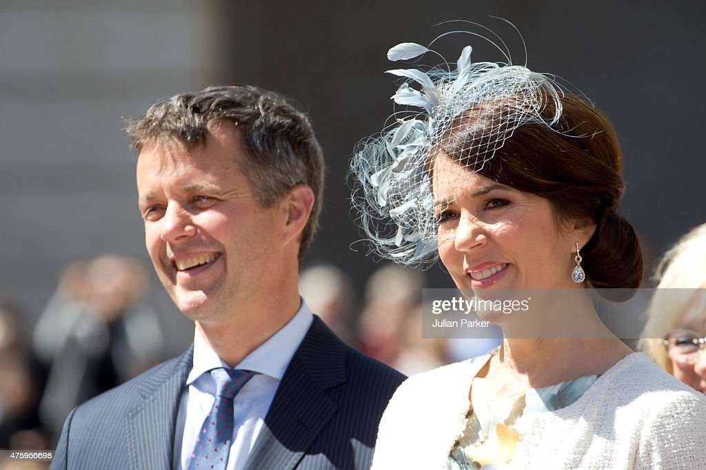 Crown Prince Frederik of Denmark and Crown Princess Mary of Denmark at Christiansborg Palace on the occasion of The 100th Anniversary of The 1915 Danish Constitution, on June 5th, 2015 in Copenhagen, Denmark