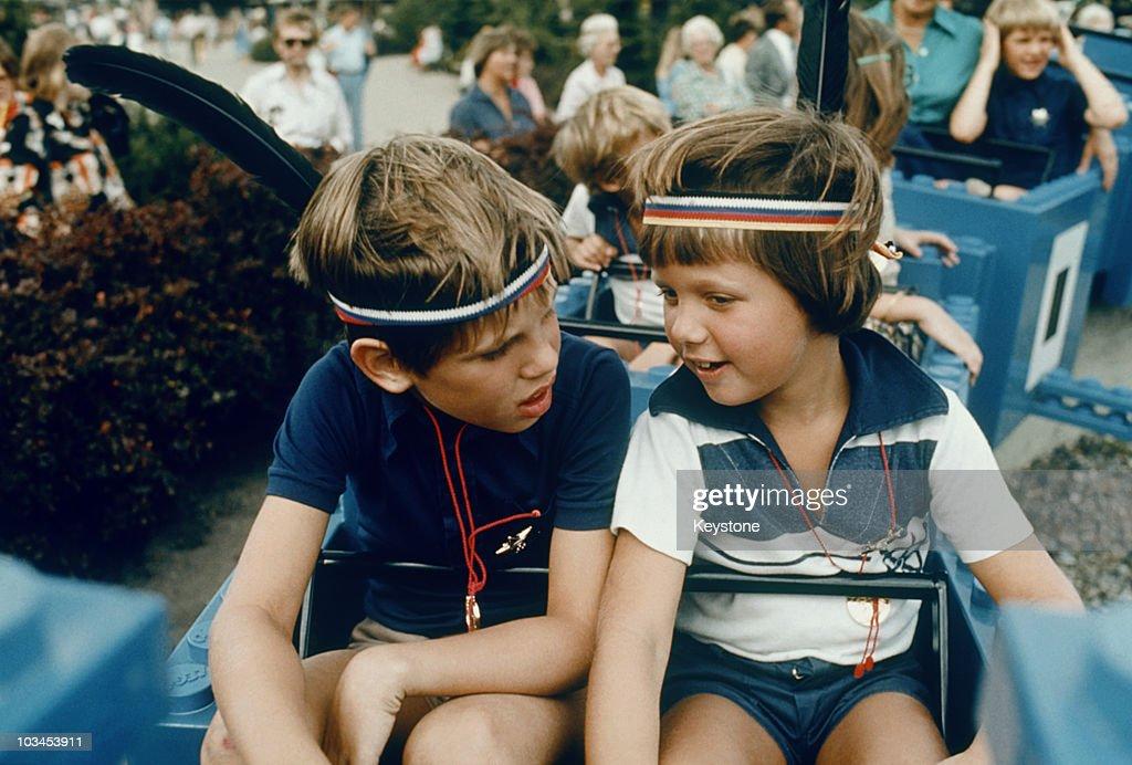 Frederik And Joachim Of Denmark : News Photo