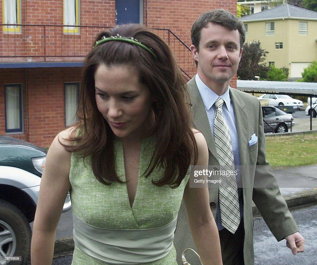 Danish Royal Couple Attend Wedding In Tasmania : News Photo