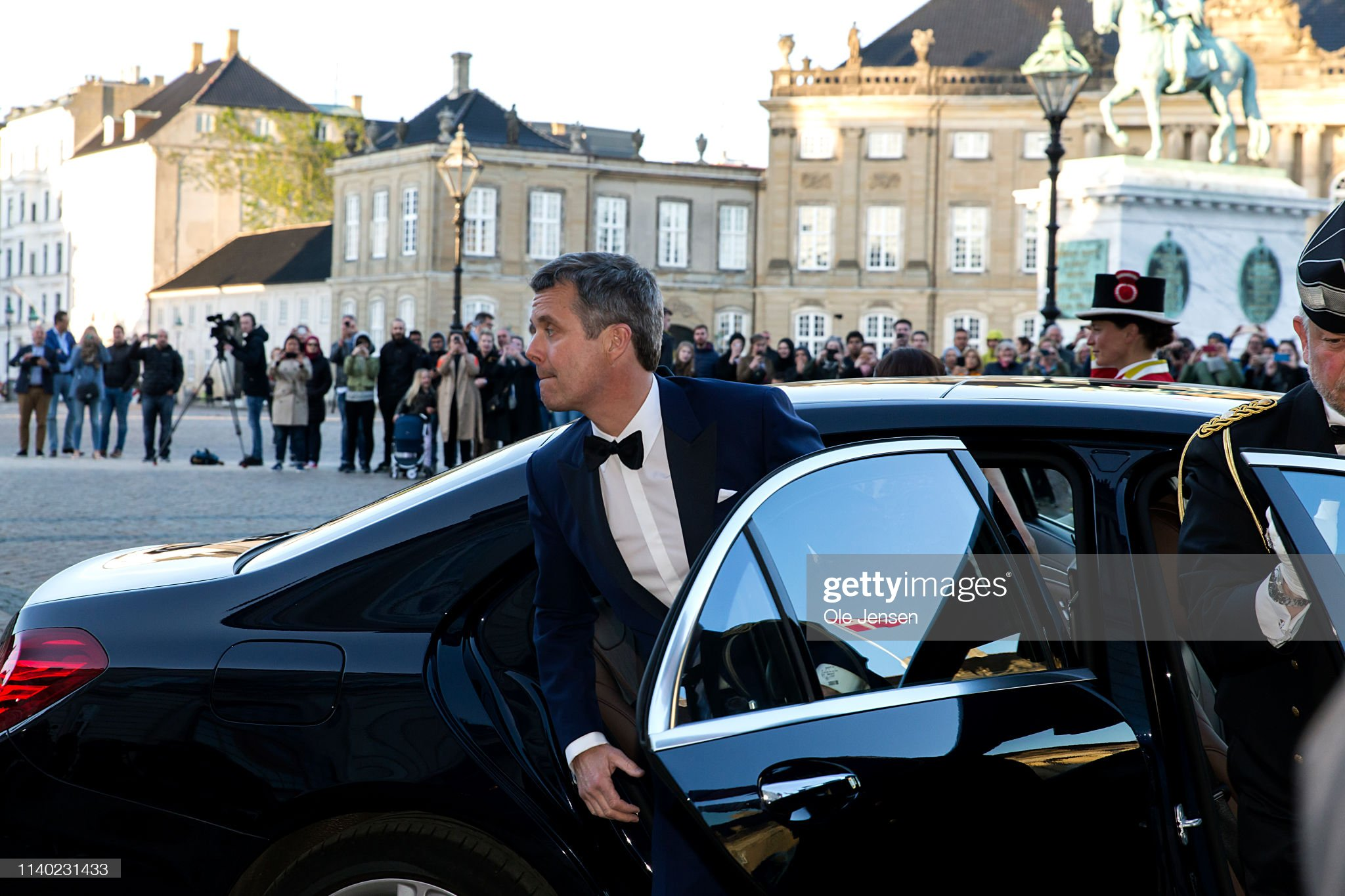 crown-prince-frederik-of-denmark-arrives-at-princess-benedikte-of-picture-id1140231433