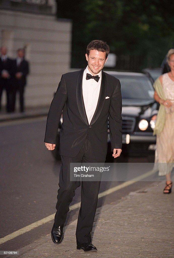 Crown Prince Frederik Of Denmark : News Photo