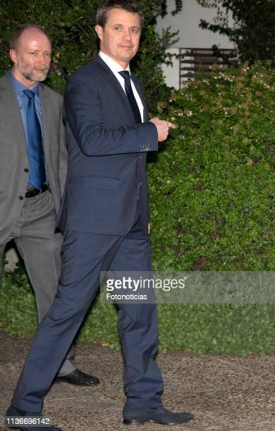 Crown Prince Frederik of Denmark attends a reception at the Yacht Club on March 18 2019 in Buenos Aires Argentina