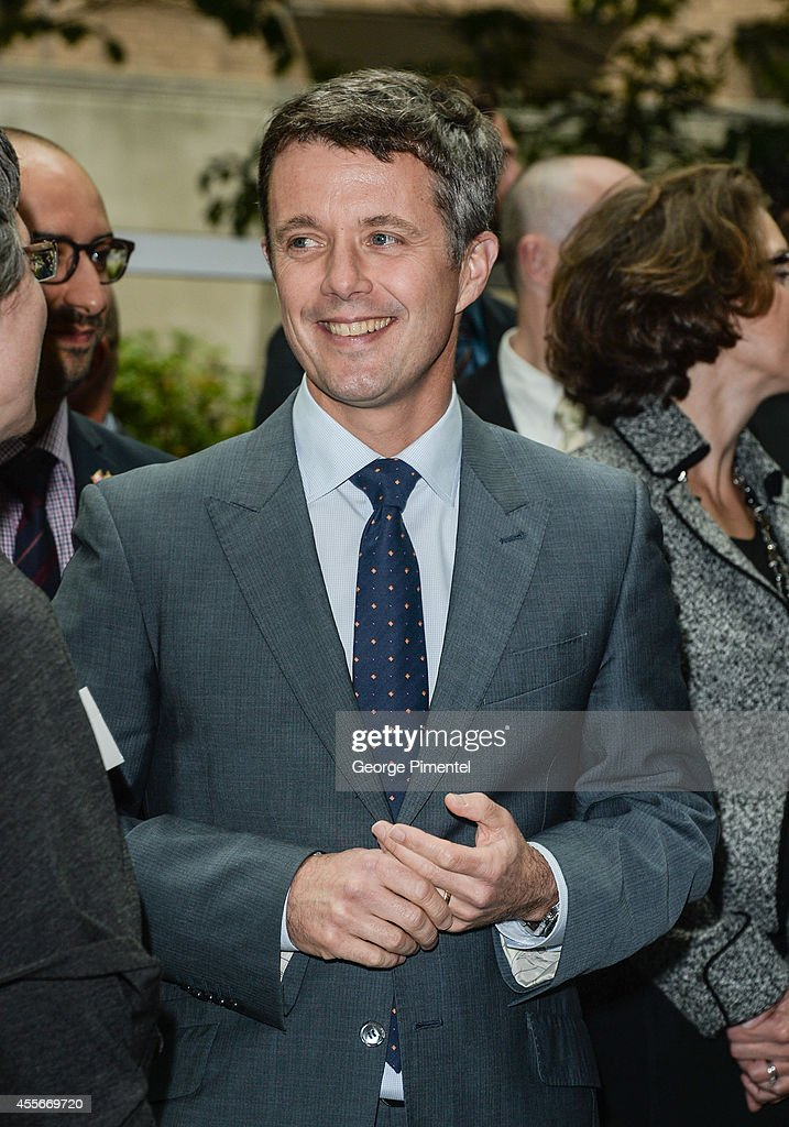 Crown Prince Frederik of Denmark attends official visit to Canada - Day 2 at MARS Discovery District on September 18, 2014 in Toronto, Canada.