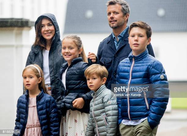 Crown Prince Frederik of Denmark Crown Princess Mary of Denmark Prince Christian of Denmark Princess Isabella of Denmark Prince Vincent of Denmark...