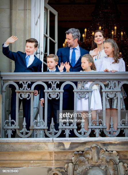 Crown Prince Frederik of Denmark Crown Princess Mary of Denmark Prince Christian of Denmark Prince Vincent of Denmark Princess Josephine of Denmark...